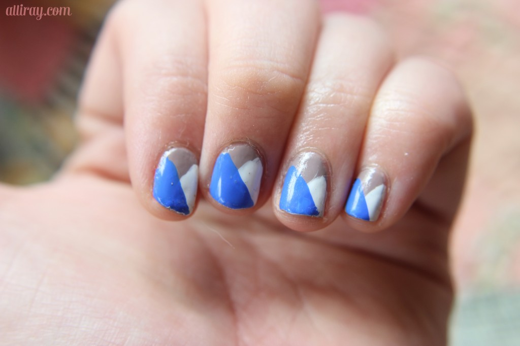 trianle nails