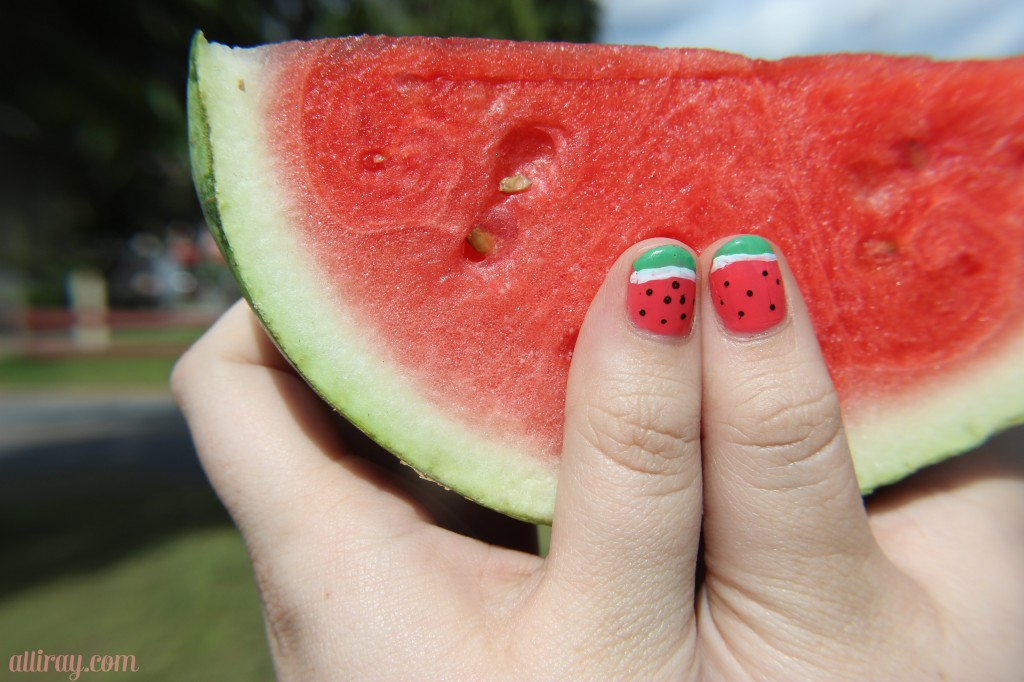 watermelon nails 2